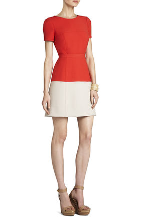 Hannah Color-Blocked Dress | BCBG
