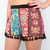 BOHEMIAN TRIBAL HERBAL FLORAL TASSEL FRINGED HEM FESTIVAL SHORTS 8 10 12 14 | eBay