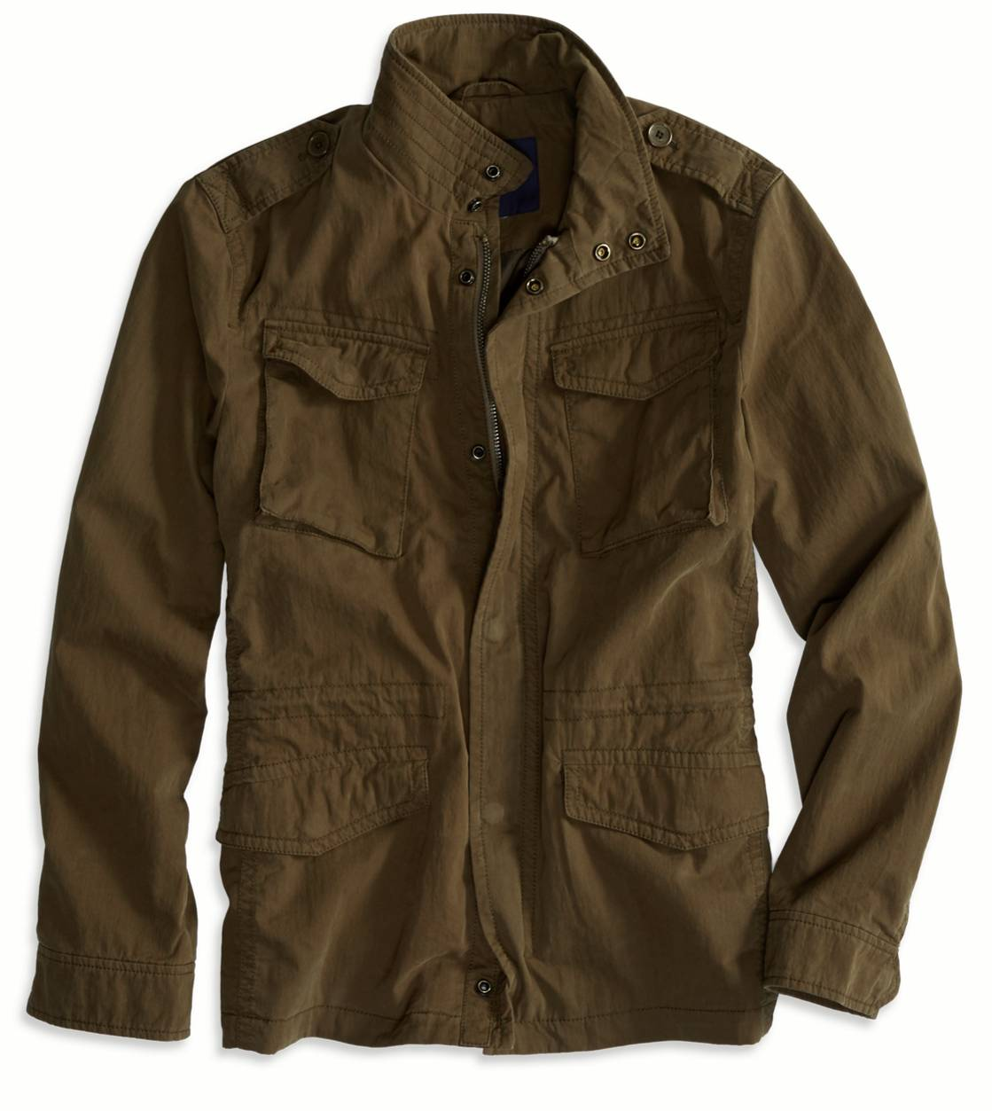 AE Military Jacket, Olive | American Eagle Outfitters