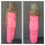 Keepsake Lace Strapless Maxi Dress - NEON PINK                           | Dainty Hooligan Boutique
