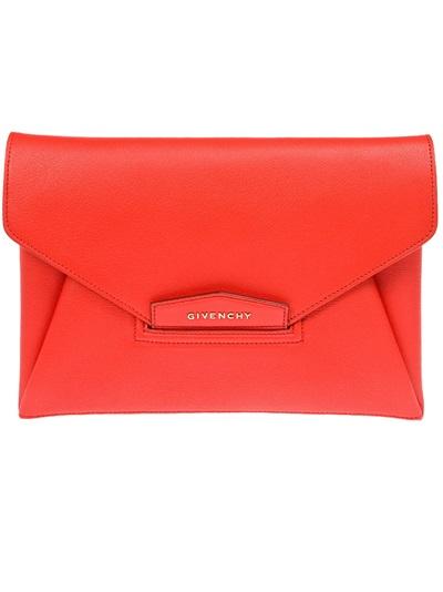 Givenchy 'antigona' Envelope Clutch -  - Farfetch.com