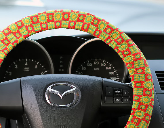 Items similar to Steering Wheel Cover Bow Wheel Car Accessories Lilly Heated For Girls Interior Aztec Monogram Tribal Camo Cheetah Sterling Chevron African on Etsy