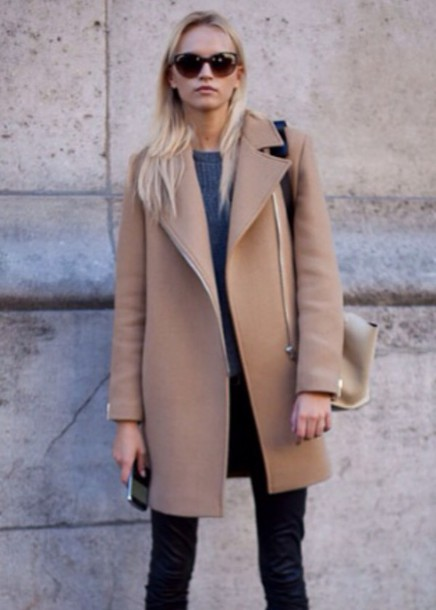 coat beige jacket camel coat camel