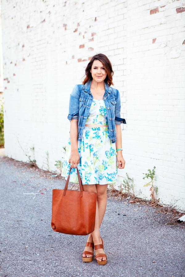 kendi everyday top skirt jacket shoes bag jewels