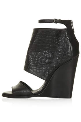WATTS Strap Wedges - Heels - Shoes - Topshop USA