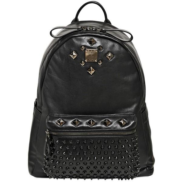 MCM Studded Stark Special Medium Backpack - Polyvore