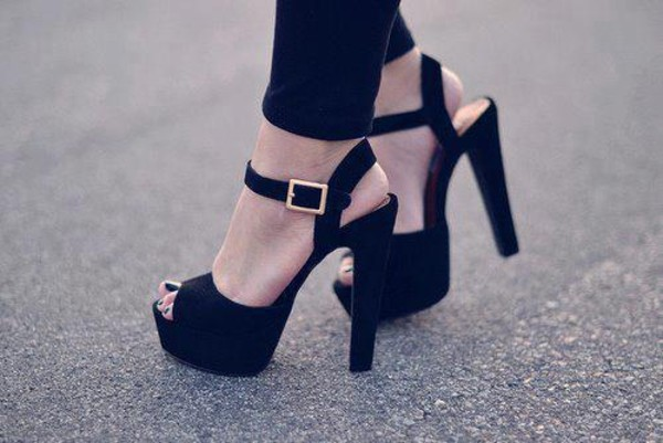 thick heel black heels party shoes shoes black heels high heels velvet suede sandals shoes sandal heels