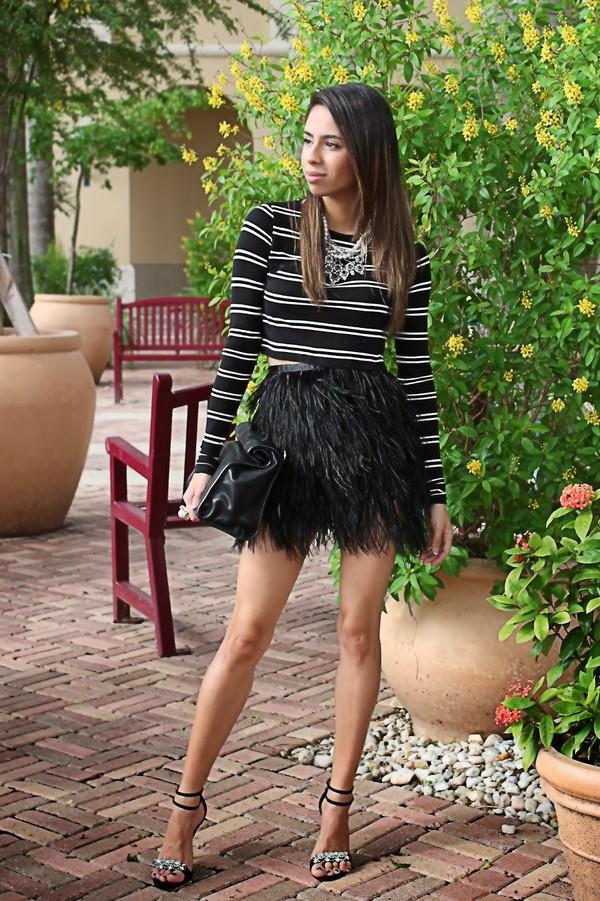 kqns style t-shirt jewels skirt bag shoes