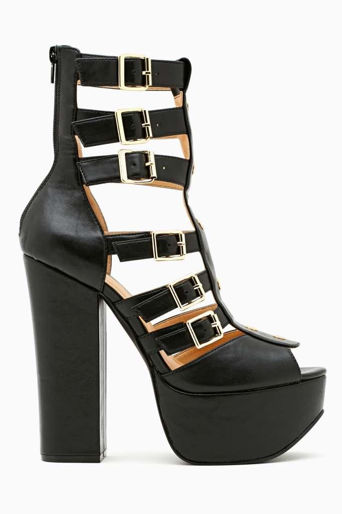 Dita Gladiator Platform  in  Shoes Heels at Nasty Gal