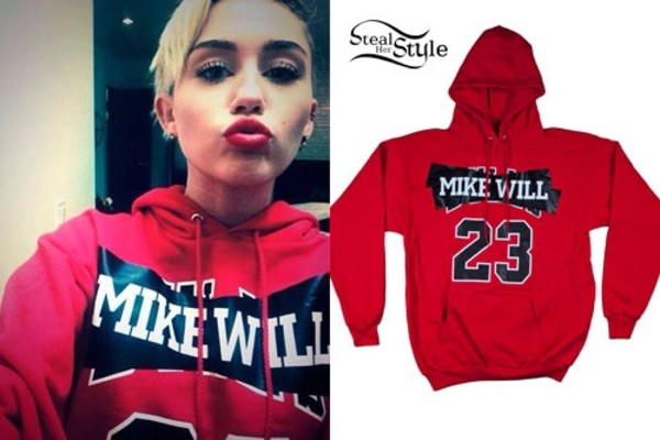 sweater miley cyrus jacket