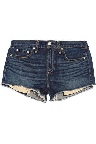 Rag & bone Mila cut-off denim shorts NET-A-PORTER.COM