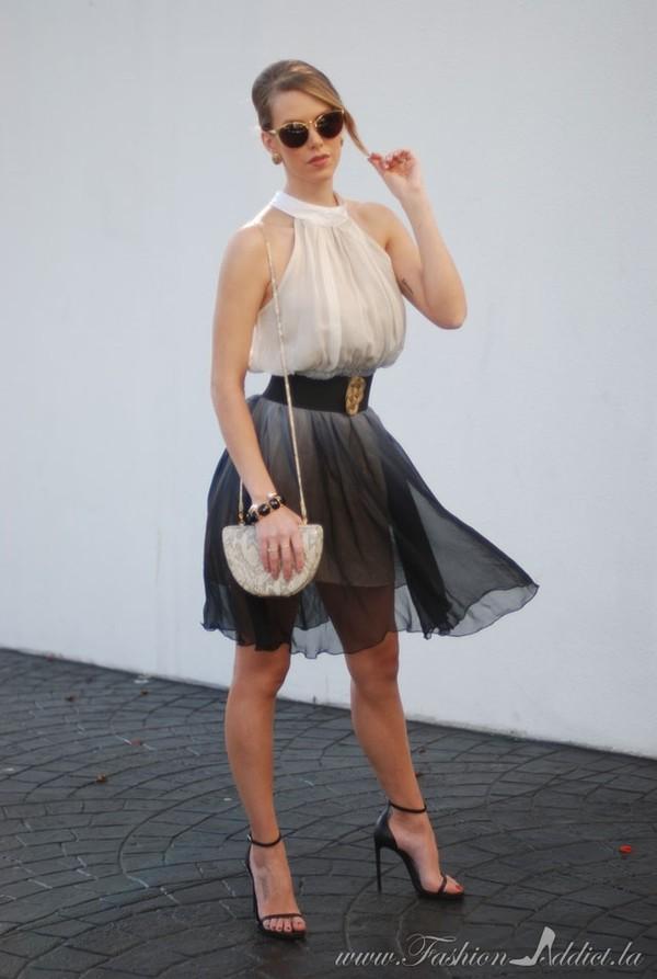 fashion addict dress shoes belt jewels bag