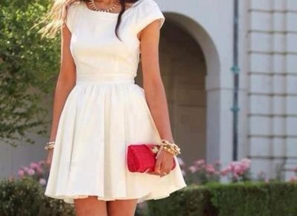 dress white white dress dress beautiful white dress