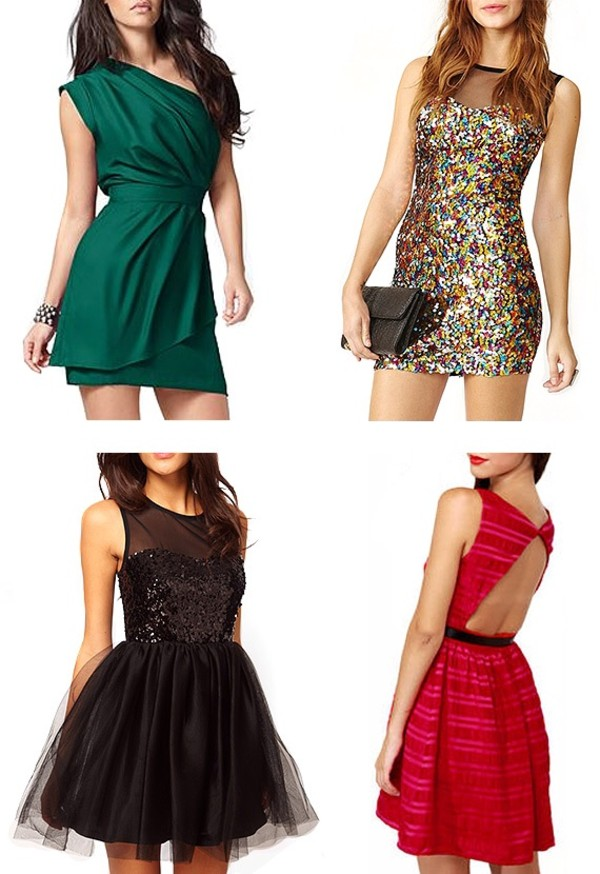 dress green dress one shoulder short party dresses sexy elegant
