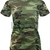 Women's Military Long Length Shirt Camouflage Army Casual Lounging T Shirt | eBay