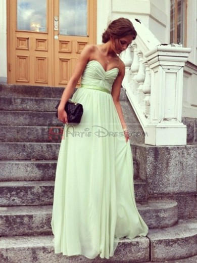 Strapless Sweetheart Long Prom Dress/Evening Gown for Cheap