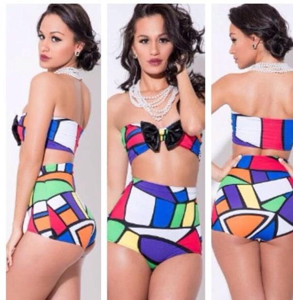 swimwear colorful