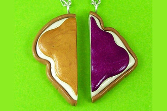 jewels jellies peanut butter jewelry bff friendship bracelet bracelets necklace sandwich
