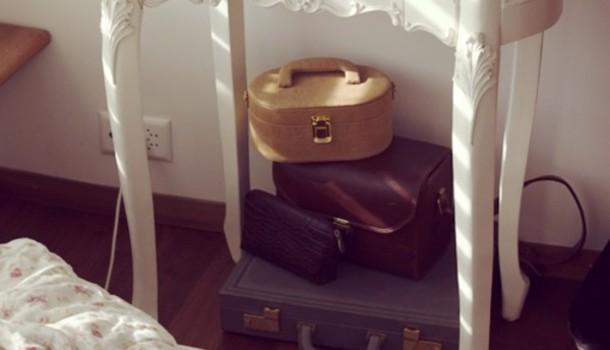 vanity bag vintage bag