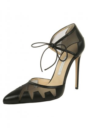 Bionda Castana LANA - High Heel Pumps - black leather - www.emeza.ch
