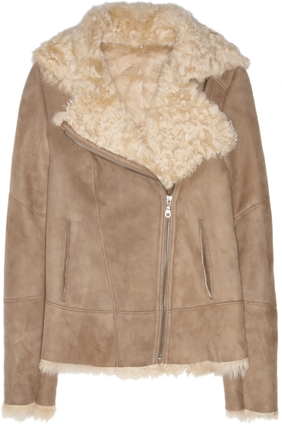 Shearling aviator jacket   Karl by Karl Donoghue   THE OUTNET
