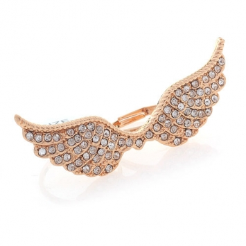 Freedom Angel Wing Ring