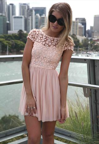Amazing Baby Pink Splended Angel Dress  Tulle Lace mini | Xenia Boutique | ASOS Marketplace