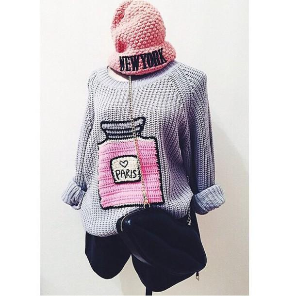 hat sweater