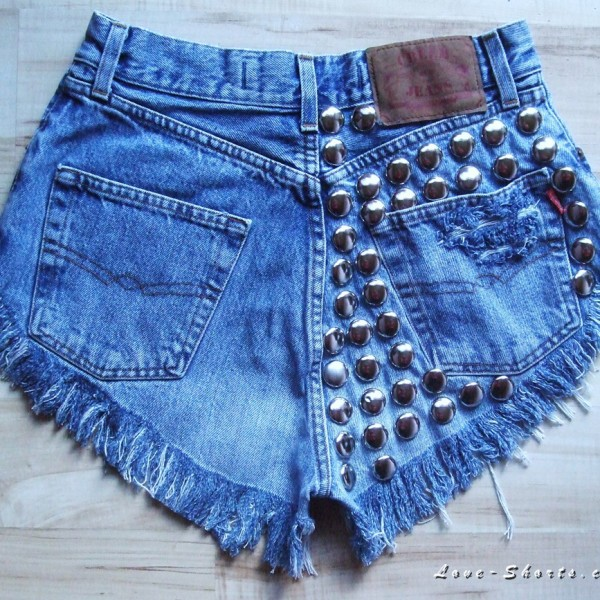 jeans shorts studded shorts denim shorts summer outfits