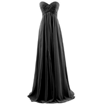 Amazon.com: Dresstells Sweetheart Bridesmaid Chiffon Prom Dresses Long Evening Gowns for Juniors: Clothing