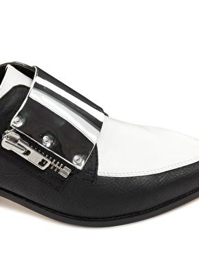 ASOS   ASOS MALCOLM Pointed Flat Shoes at ASOS