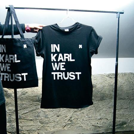 t-shirt Monsieur Steve In Karl We Trust ($20-50) - Svpply
