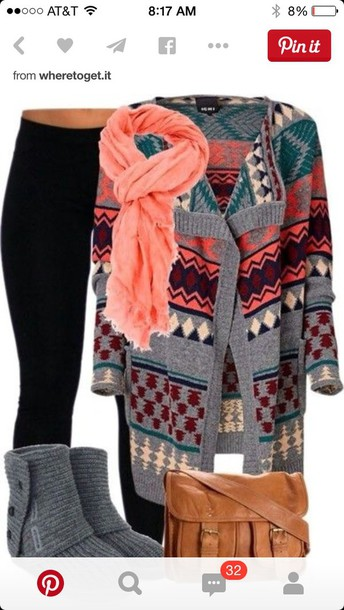 sweater aztec sweater