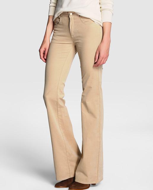Pantalon De Pana Mujer Tienda Online De Zapatos Ropa Y Complementos De Marca