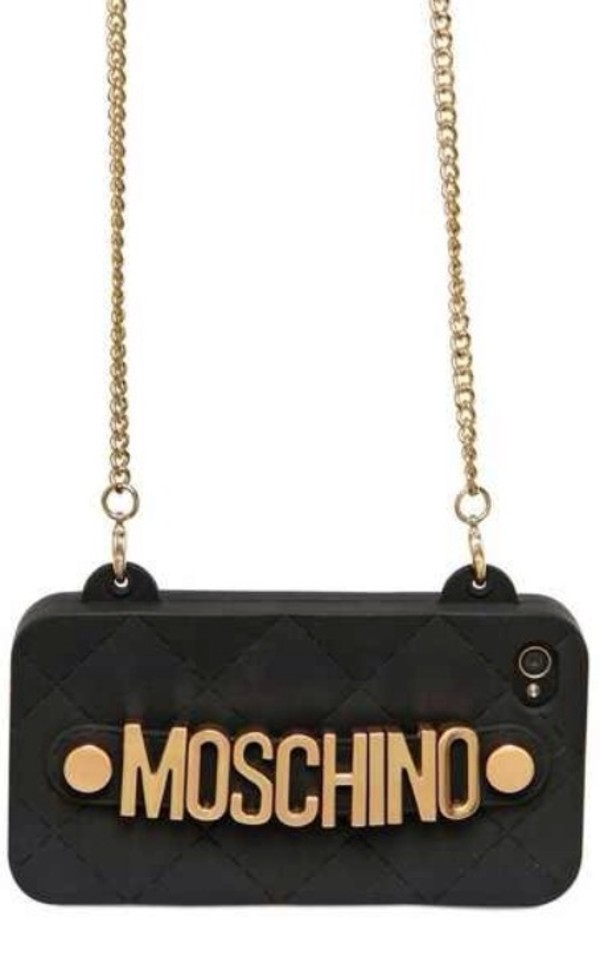 Moschino Cell Phone Purse