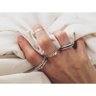 jewels hipster jewelry pandora silver ring boho jewelry