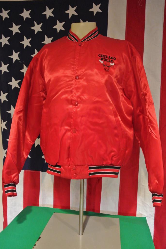 True Vintage NBA Chicago Bulls Satin Swingster Jacket x Large Deadstock   eBay