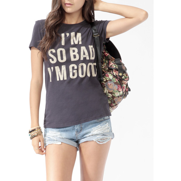 I'm So Good Tee - Forever 21 - Polyvore