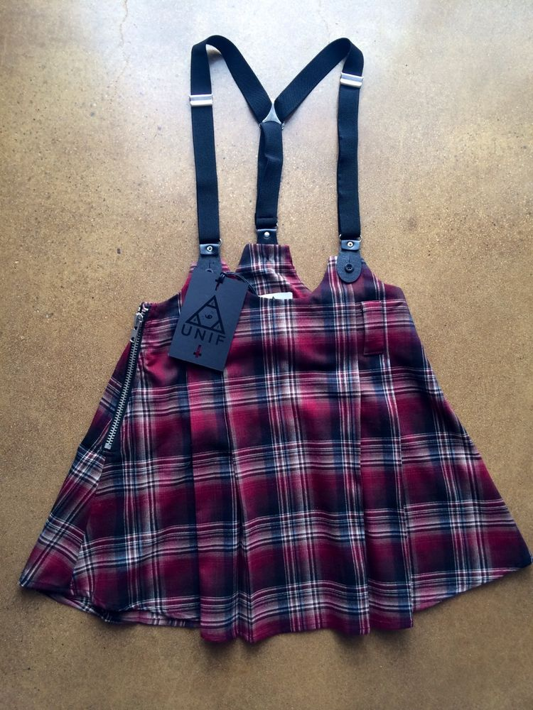 Nasty Gal UNIF Dropout Suspender Skirt Size XS Bought for $105! | eBay