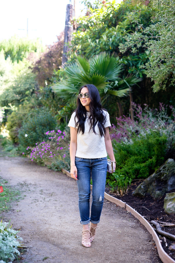 the fancy pants report top jeans shoes bag