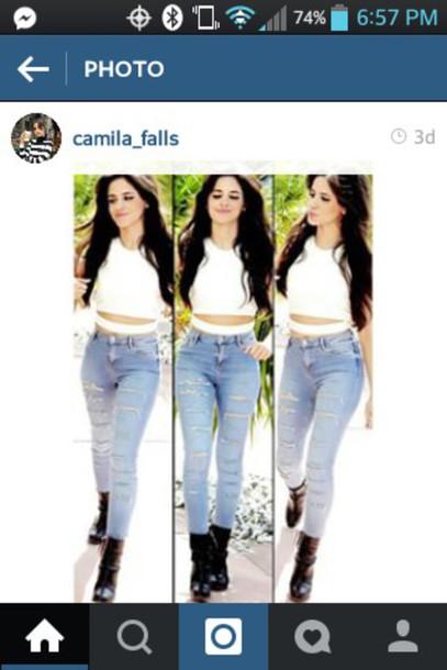 jeans camila cabello Fifth Harmony