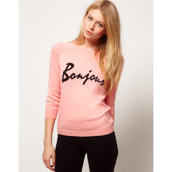 ASOS Bonjour sweater - Polyvore