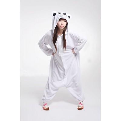 Adult onesies White polar bears Kigurumi Kunt animal onesies