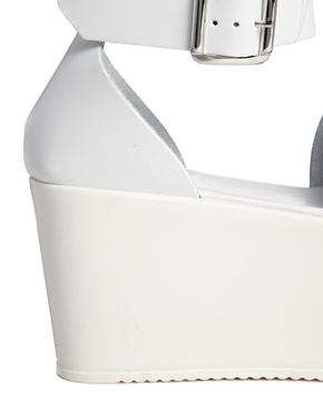 ASOS | ASOS - HARVEST TIME - Sandali flatform di pelle su ASOS
