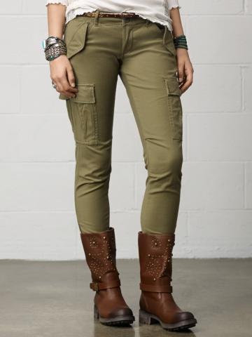 Skinny Freedom Cargo Pant - Pants  Pants & Denim - RalphLauren.com