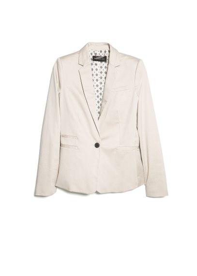 printed lining blazer