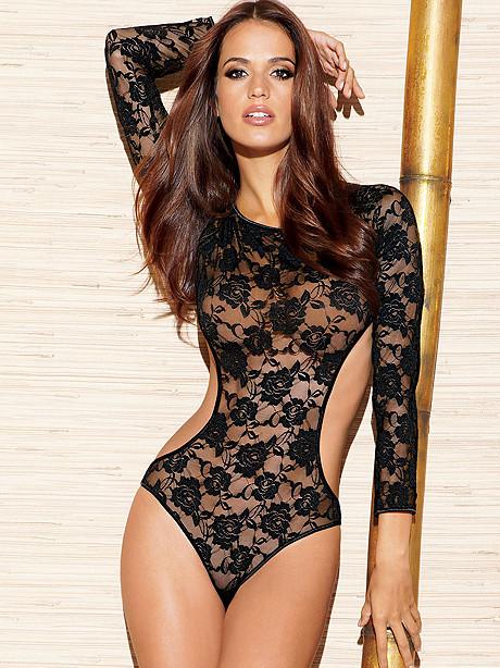 Floral Lace Bodysuit