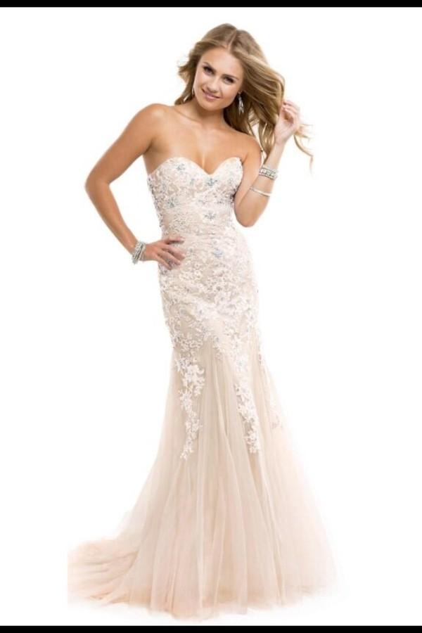 dress prom dress mermaid prom dress champaign