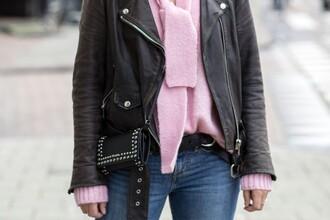 after drk blogger sweater jacket jeans shoes bag