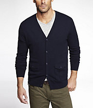 MILITARY POCKET CARDIGAN | Express